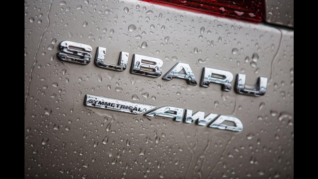 Subaru Brand Symmetrical All Wheel Drive
