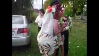 Свадьба в Корюковке ч3 День второй, Купание родителей жениха