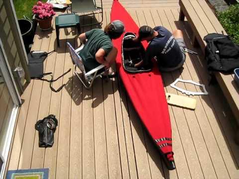 Feathercraft K-Light Kayak Assembly