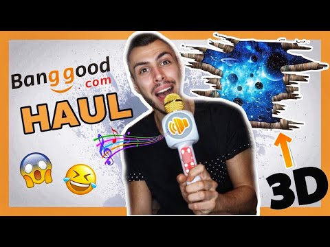 ΗΧΕΙΑ ΣΥΝΤΡΙΒΑΝΙ !? BANGGOOD HAUL+GIVEAWAY | Tsede The Real