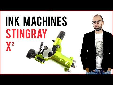 STINGRAY  X2 - tattoo machine recensione