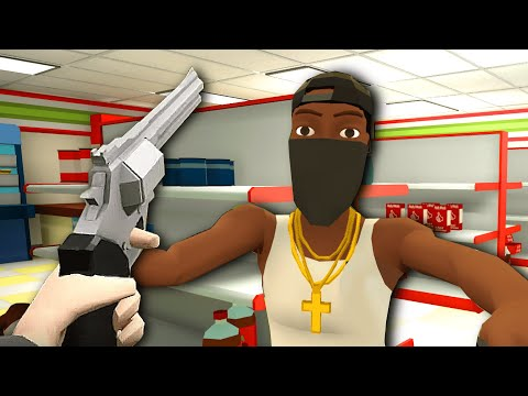 Virtual Reality FBI Agent Tries To SAVE HOSTAGES In A Convenience Store in Fast and Low VR