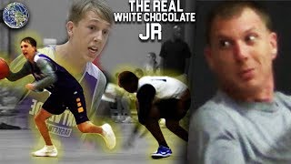 Jason Williams SON BREAKS ANKLES!! Jaxon Williams REAL WHITE CHOCOLATE JR!! SHIFTY PG For Montverde! thumbnail