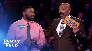 Celeste and Desmond chase $20,000!   Family Feud