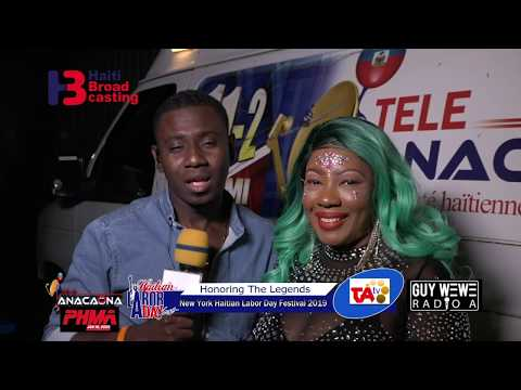 Princess Georgie Interview With Guy Wewe @ Haitian Labor Day Fest 2019
