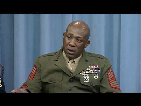 PENTAGON: 11/27/17. Senior Top Enlisted Leaders Brief Reporters On Current Events.