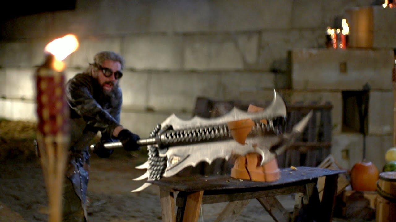 Download Dragon's Breath Sword in Action | Big Giant Swords