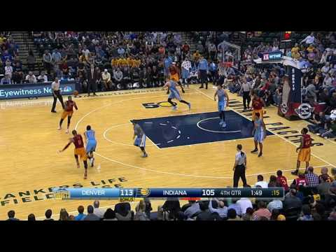 Denver Nuggets at Indiana Pacers- March 24, 2017
