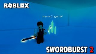 Roblox Swordburst 2 How to find The Item Crystal on Floor 3