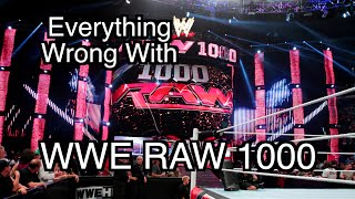 Episode #101: Everything Wrong With WWE Raw 1000