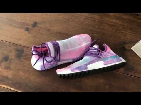 "706659b496e69 Desempacado  Adidas NMD Hu Holi ""Powder Dye"" - YouTube"