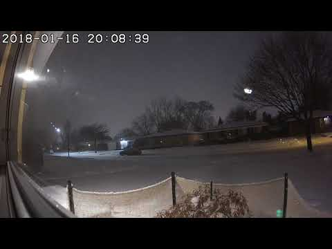 Camera in Warren captures metro Detroit meteor