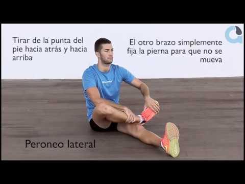 Cómo estirar el Peroneo lateral? - SUAM Sport - YouTube