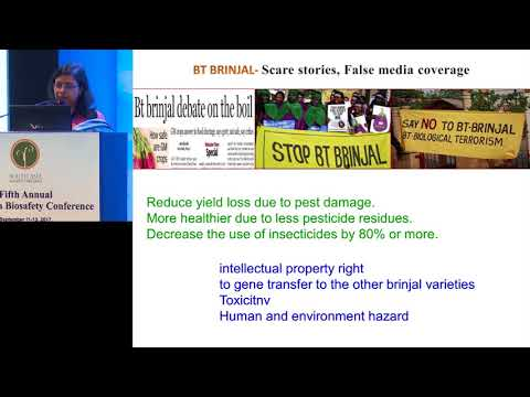 ILSI RF – SABC2017: How Our Young Generation Perceive GM Food Crop (Dr. Aparna Islam)