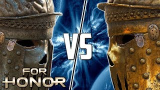 [For Honor] Spliced VS Havok! Centurion Mirror Match - Round 2