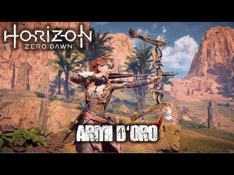 Horizon Zero Dawn ITA - Come ottenere le ARMI D'ORO (Armi della Loggia)