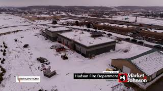 Hudson Fire Department Aerial 1.3.20