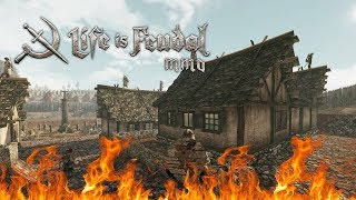 Life is Feudal MMO - Burning Down Armitage City