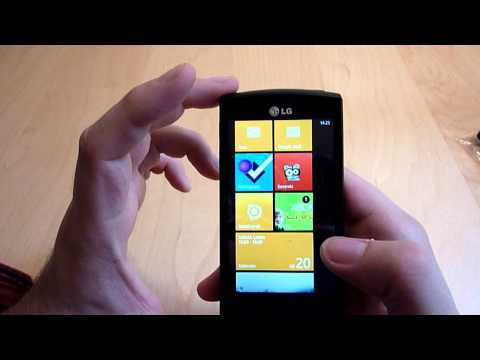 Review: LG E900 OPTIMUS 7 mit Windows Phone 7
