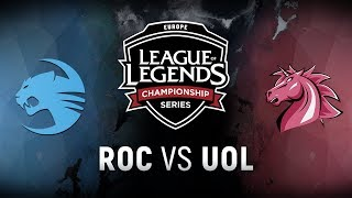Video ROC vs. UOL - Week 6 Day 2 | EU LCS Spring Split |  Team Roccat vs. Unicorns of Love (2018) download MP3, 3GP, MP4, WEBM, AVI, FLV Agustus 2018