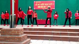 nhảy hiện đại Panama + Em sai rồi... + Save me + Boom + Gentleman by ROSY THPT Yên Lạc 2