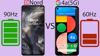 Pixel 4a (5G) vs OnePlus Nord - Battery Drain & Charging Test!
