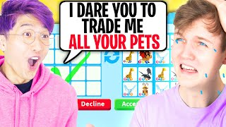 Can We Beat TRUTH OR DARE In Roblox ADOPT ME!? (HACKED ACCOUNT!)