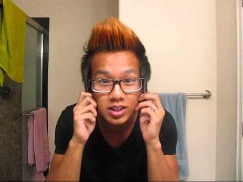 Asian Hair Fauxhawk
