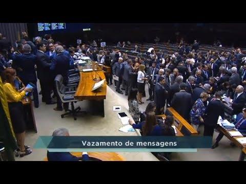 Vazamento de mensagens entre Moro e Dallagnol foi tema mais debatido em Plenário - 14/06/19