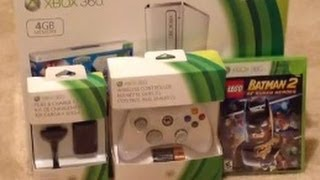 Xbox 360 Slim Skylanders Bundle Unboxing & More
