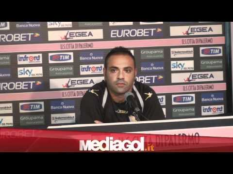 Fabrizio Miccoli Palermo Conferenza Stampa 06 09 2011 Mediagol