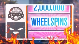 SPENT 2,000,000 CREDITS ON WHEELSPINS | Forza Horizon 3 Gameplay
