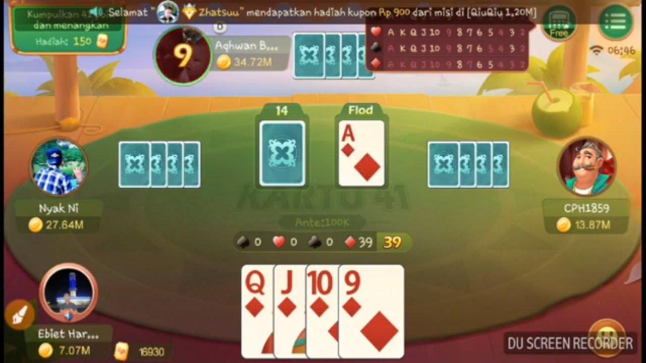 Cara Main Kartu 41 di Higgs Domino - Game Berhadiah Pulsa ...