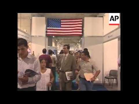 First US trade fair since Lebanon's civil war