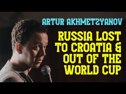 Russia lost to Croatia and out of the...