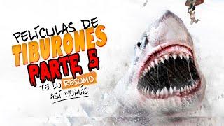 Otras 3 Peliculas de Tiburones | Te Lo Resumo