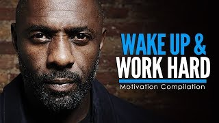 Gambar cover WAKE UP & WORK HARD AT IT - Motivational Video Compilation for Success & Studying