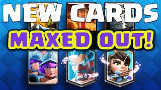 Clash Royale Sneak Peek ♦ UPDATE: New LEGENDARY Cards! ♦ MAXED Out!