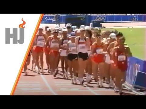2000 Sydney - 20km marche hommes (disqualification de Bernardo Segura)