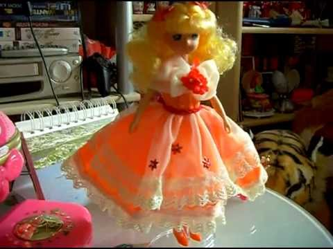 Candy Candy doll with dress from Sailor Moon