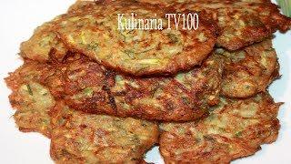 Супер Вкусные Оладьи из Кабачков и Картошки