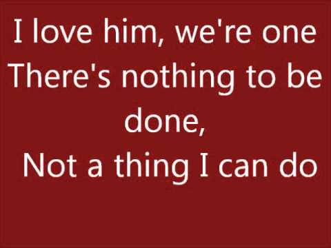 Glee A Boy Like That/I Have A Love lyrics