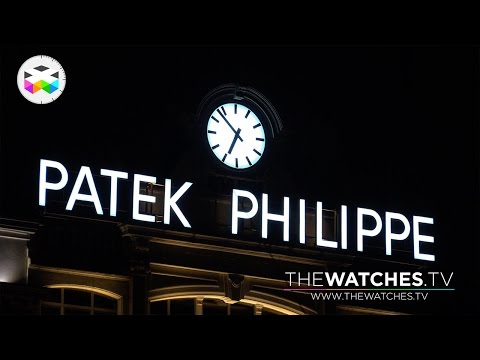 Experiencing the Patek Philippe Geneva Salon