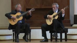 Sérgio and Odair Assad play Aníbal Augusto Sardinha (Garoto) - Medley