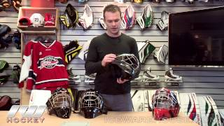 Bauer Goalie Hockey Mask Insight (Profile, Concept, NME and Star Wars)