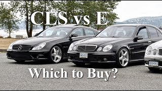 Download CLS55 vs E55 AMG | Which to Buy? w219 vs w211 (4K) Mp3 and Videos