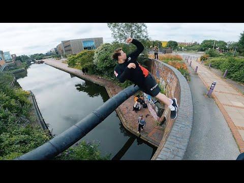 STORROR Parkour Water Challenge - Birmingham 🇬🇧