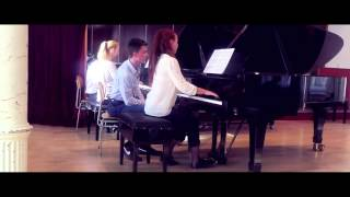 S.Rachmaninov - IV, Tarantella ( Suite for two pianos)