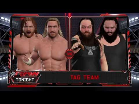WWE 2K17 | Tag team championship tournament