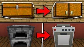 САМЫЕ СЕКРЕТНЫЕ ПОСТРОЙКИ В МАЙНКРАФТ ВЫ МОЖЕТЕ ПОСТРОИТЬ ТУТОРИАЛ АВТОМАТ В Minecraft ПОКУПКА ПЕЧЬ